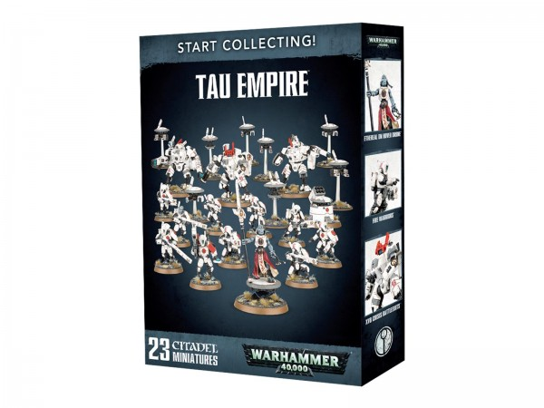 START COLLECTING! TAU EMPIRE