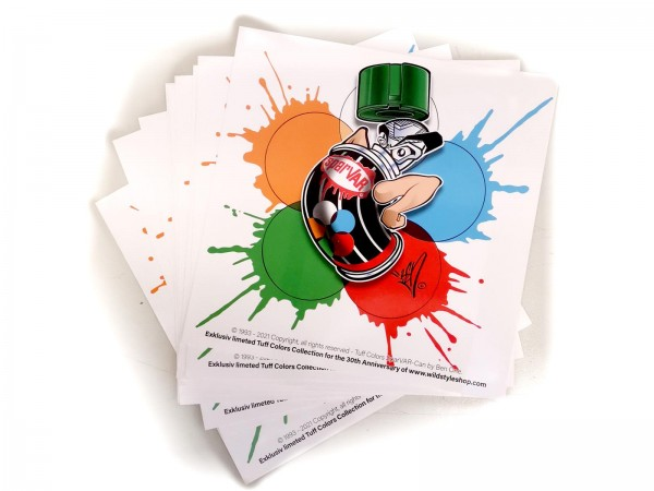 Tuff Colors Outdoor Sticker 148 x 148mm