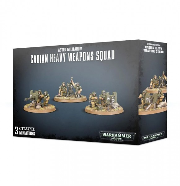 A/MILITARUM CADIAN HEAVY WEAPON SQUAD