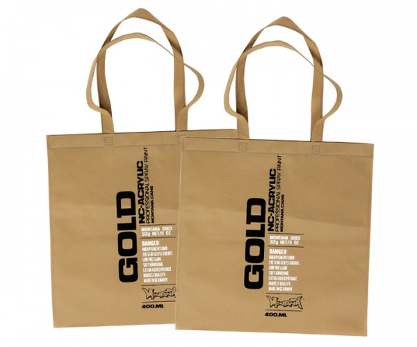 Montana Gold Shopping Bag