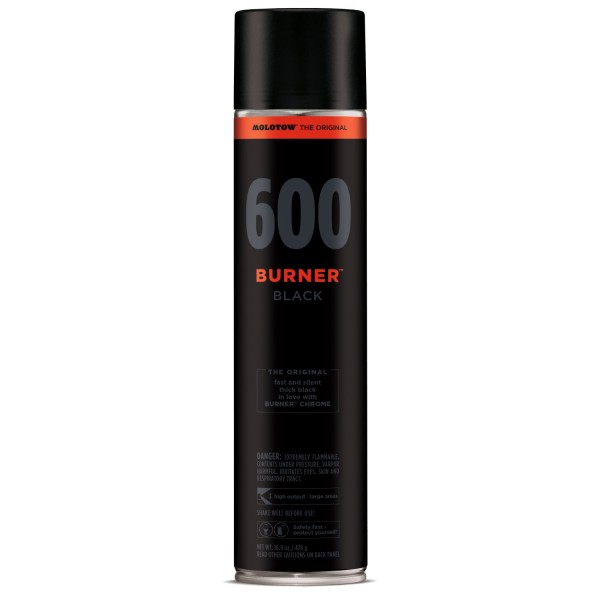 Burner Blackl 600ml