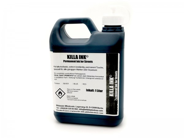 Killa Ink Permanent Tusche 1000ml