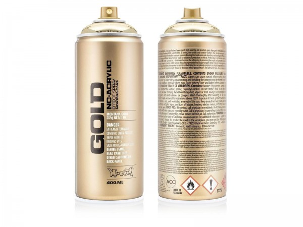 Montana Gold 400ml - Chrome Effect